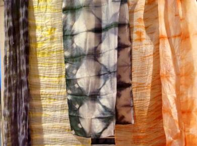 silk scarves - cordwainers