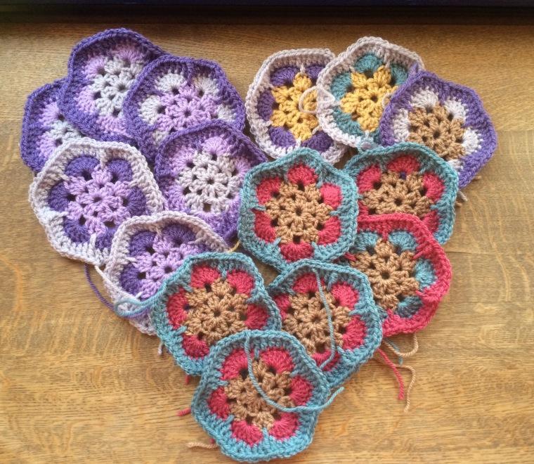 African Flowers heart